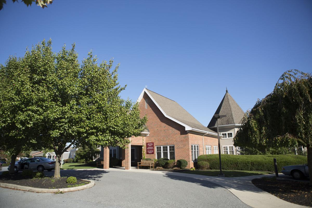 Main entrance to Landis Homes nursing care
