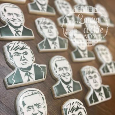 Laura the cookie lady election cookies