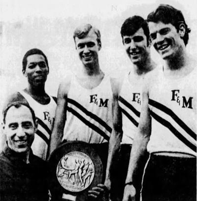 Franklin & Marshall mile-relay team 1970