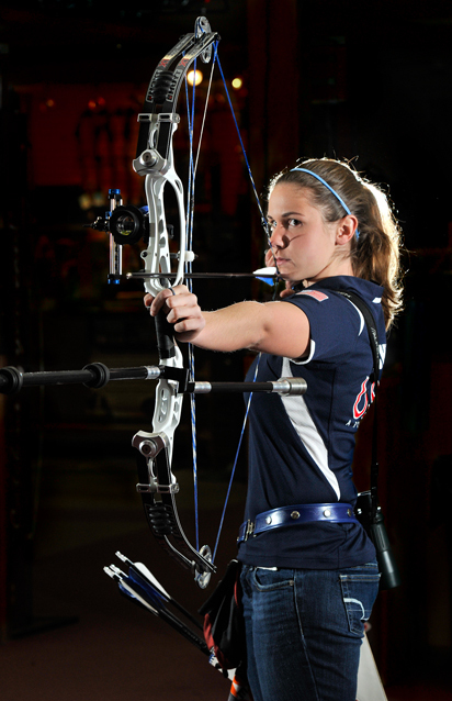 ARCHERY: Focus is her foundation