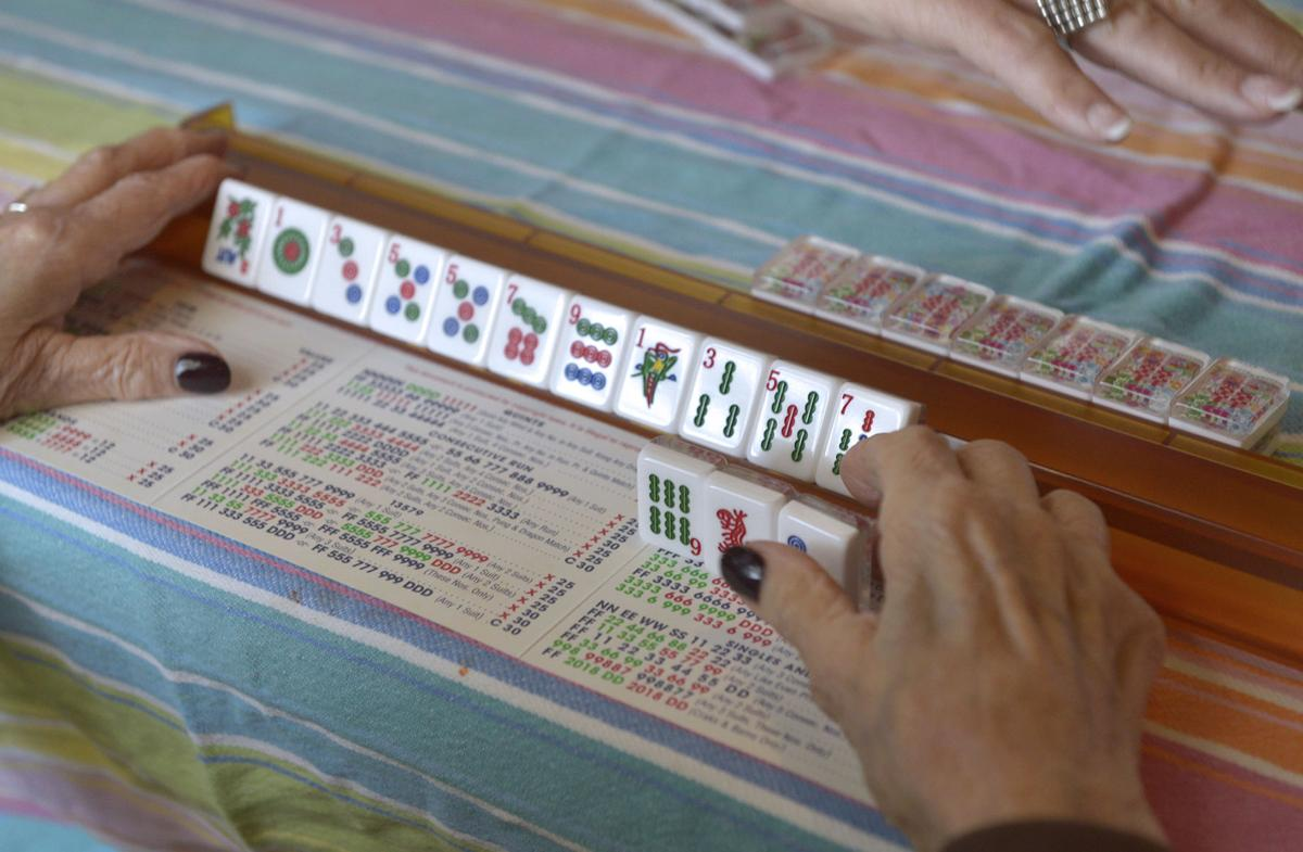 In Lancaster County, mahjong is a popular tile game of skill