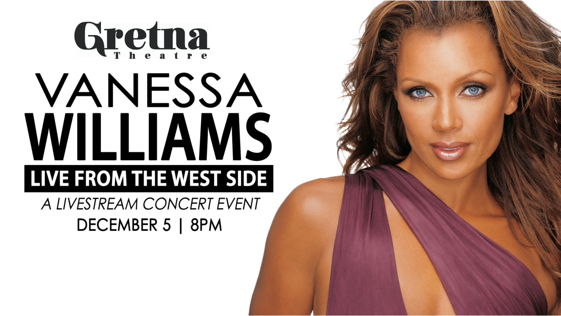 Vanessa Williams livestream concert to benefit Gretna Music, other venues