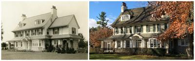 C. Emlen Urban home, 1914ish and today