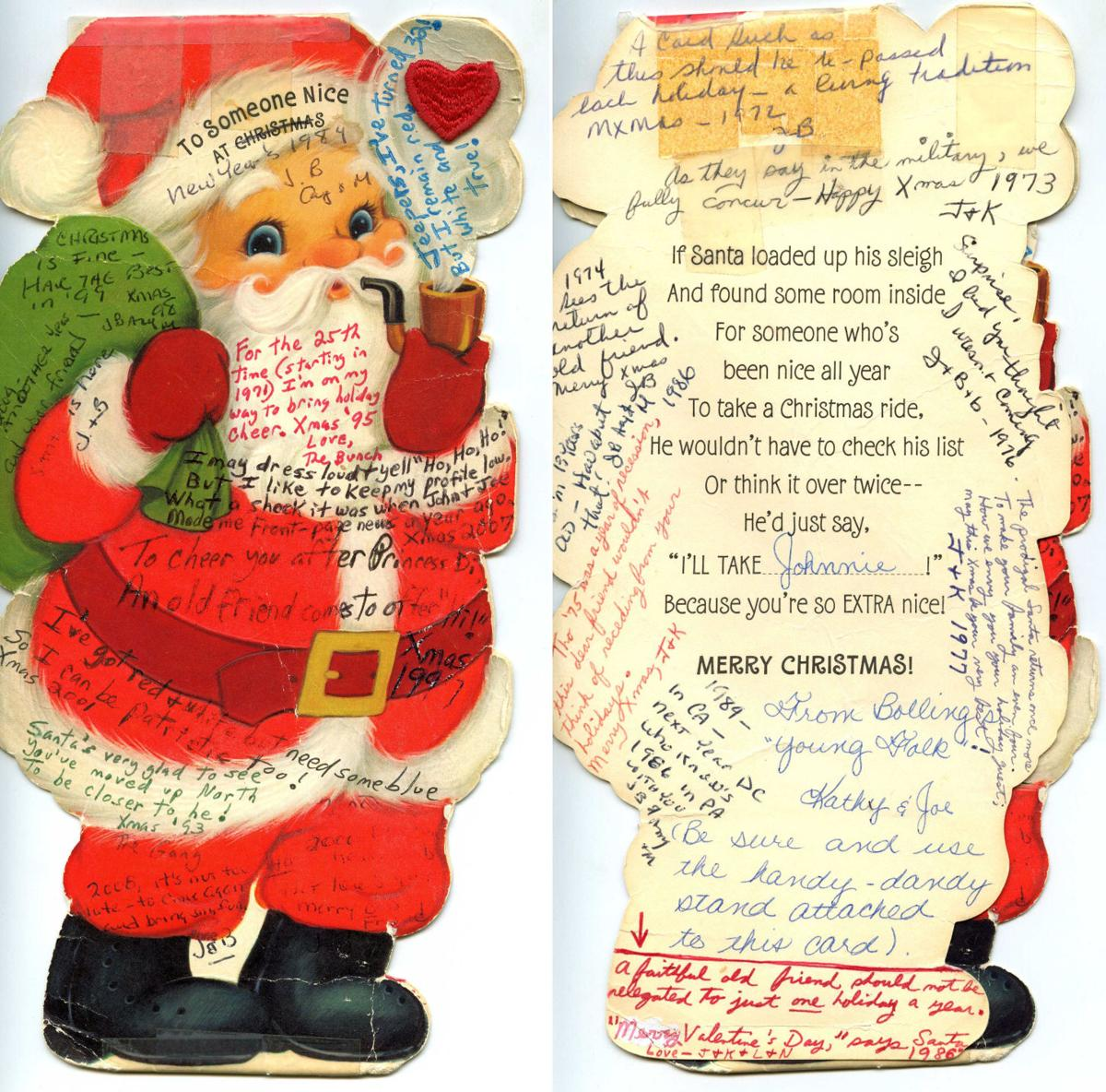 Air Force Veterans Shared Christmas Card Every Year Since 1971