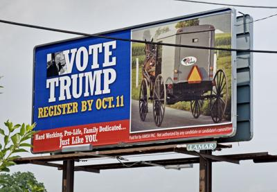Donald Trump billboards are going up in Lancaster County