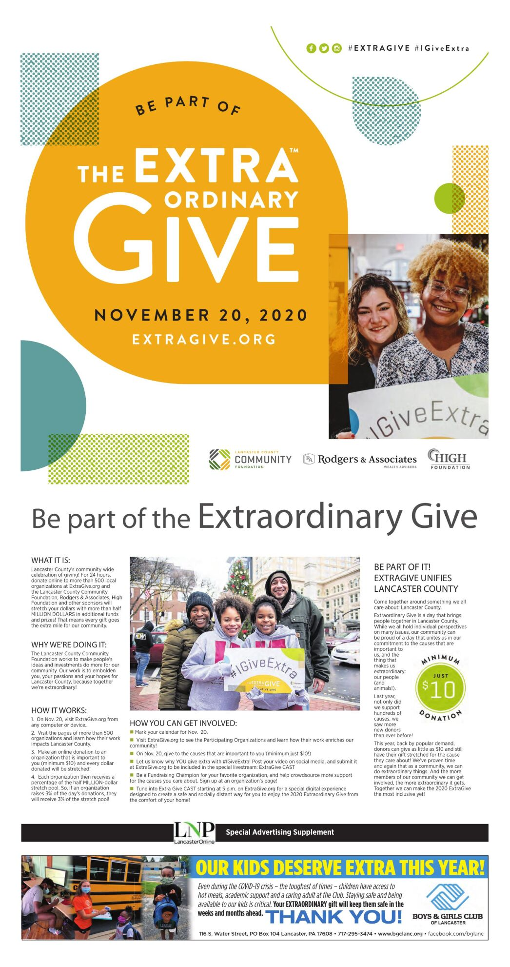The Extraordinary Give 2020