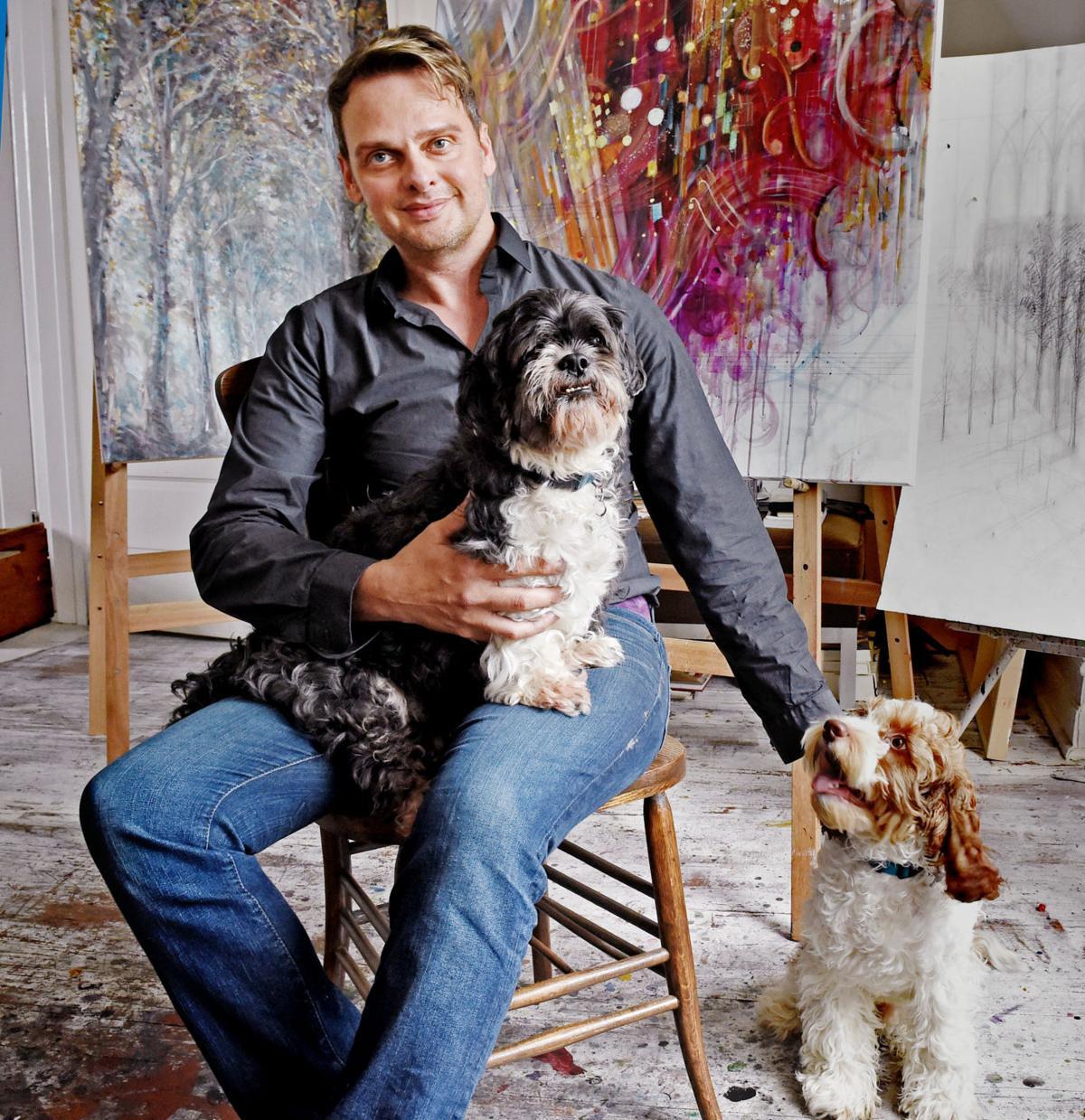 Artist Freiman Stoltzfus