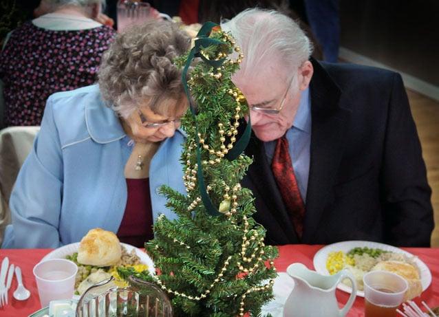 Christmas Dinner Prayer.West Earl Churches Serve Christmas Dinner News
