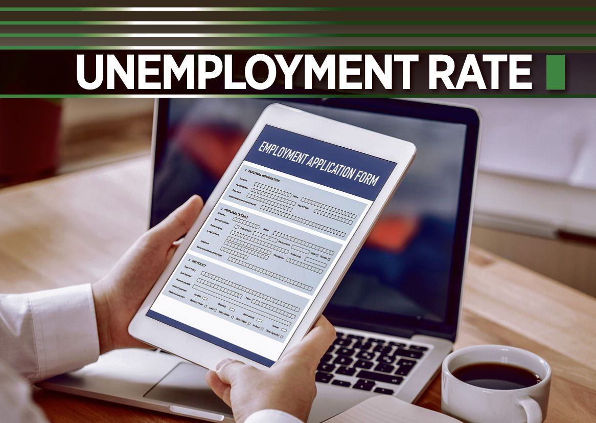 Unemployment rate logo