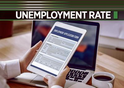 Unemployment rate logo