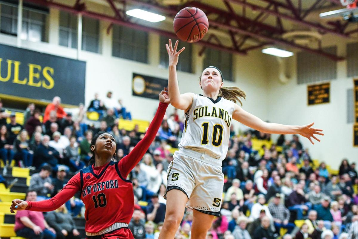 New Oxford at Solanco District 3 Class 5A Girls Basketball Playoff