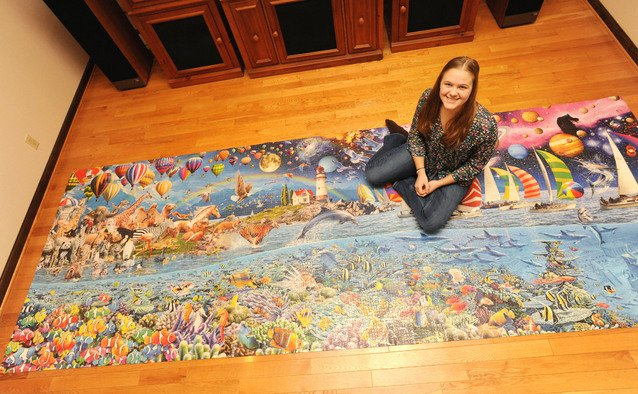 Mu Student Completes World S Largest Puzzle In 10 Months