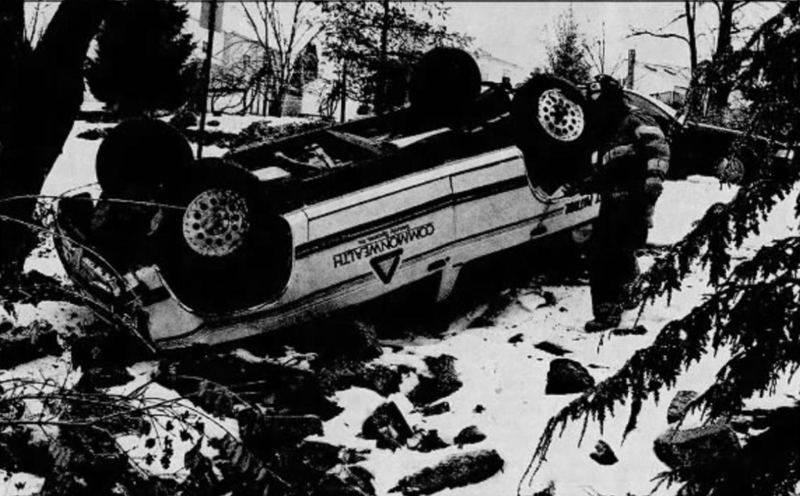 Truck overturned 1996