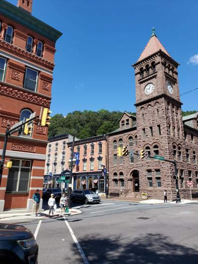 Jim Thorpe clock tower