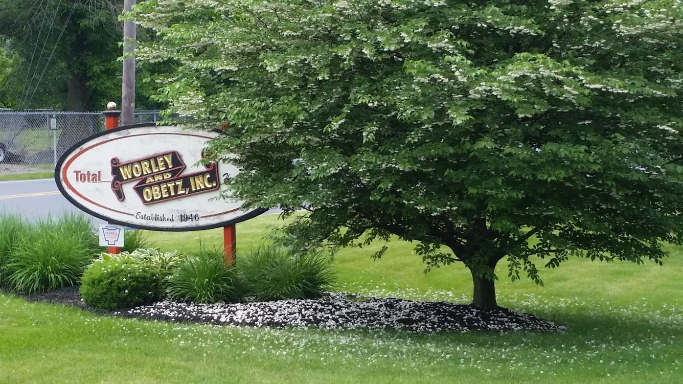 Worley & Obetz sign