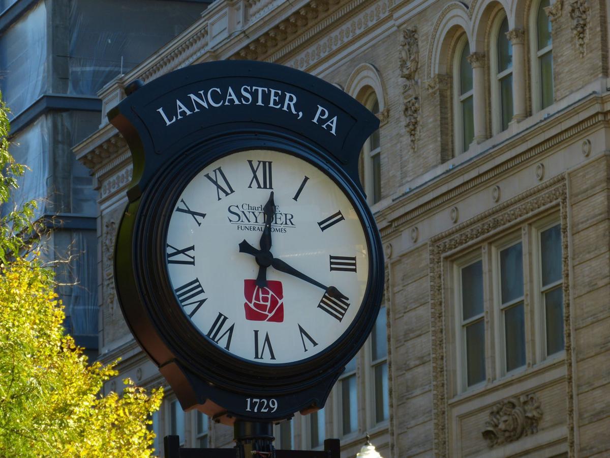 Penn Square Clock