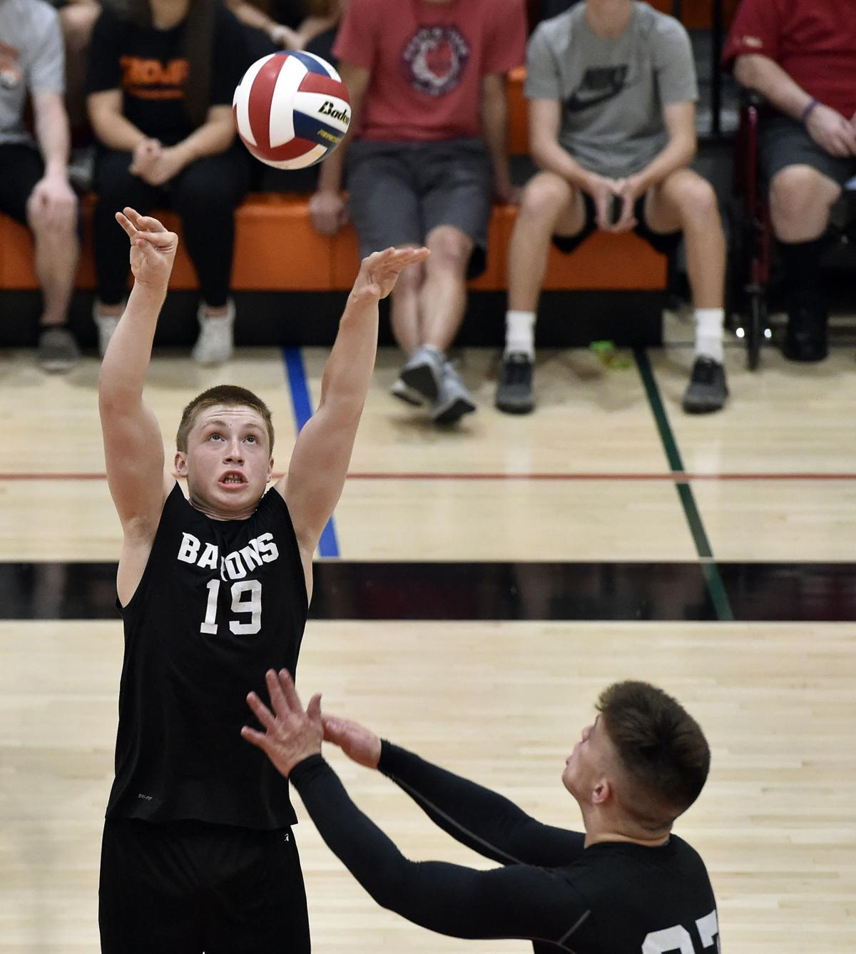 Manheim Central vs York Suburban-District 3 2A Boys Volleyball Championships