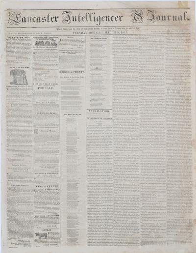 Front page - 1841