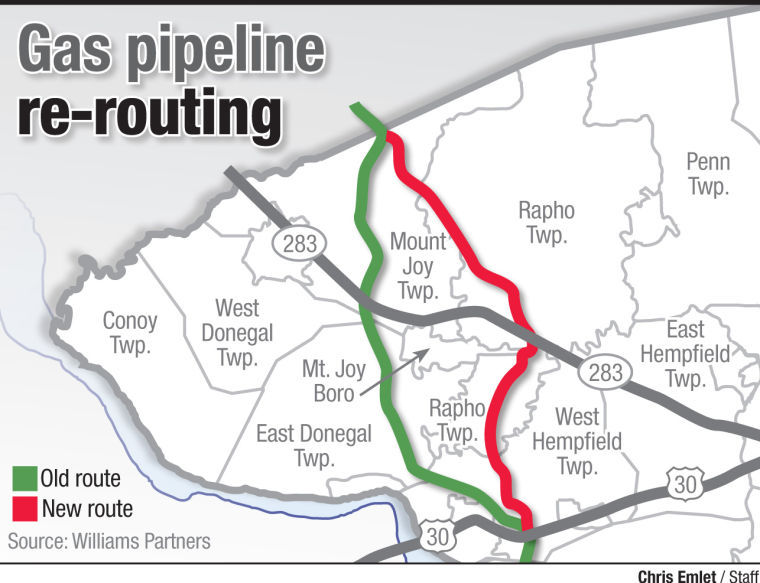 Major rerouting of proposed gas pipeline in northern Lancaster