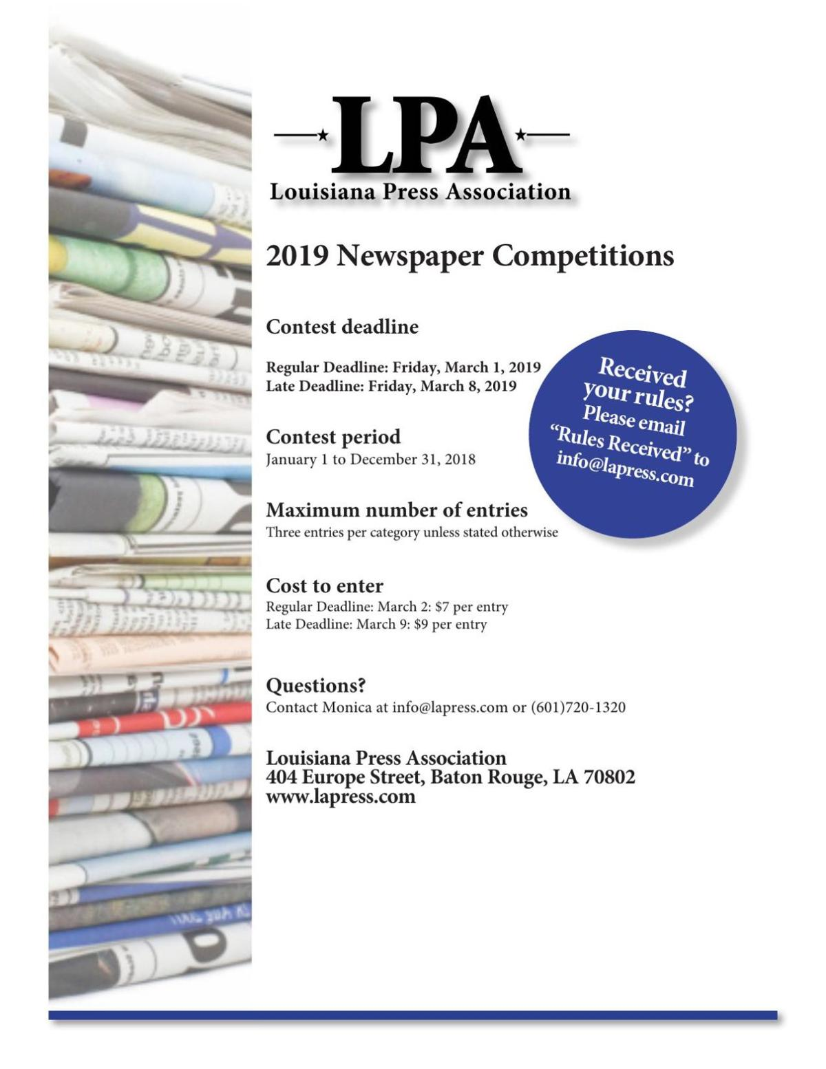 2019 LPA Competition Rules