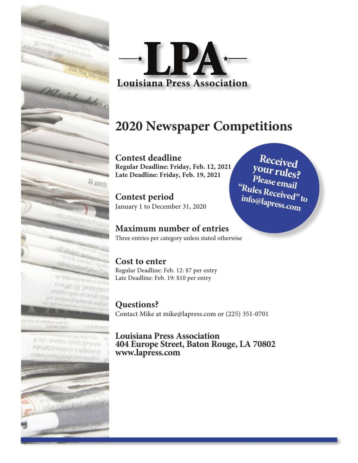 2020 Competition Rules