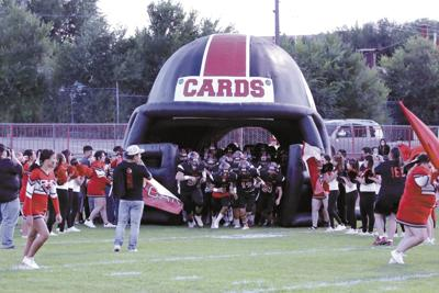 Cards storm the field