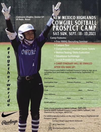 NMHU Softball Prospect Camp