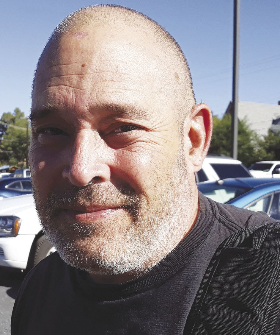 Victor Ramirez, 53, Las Vegas Anthropology major at New Mexico Highlands University