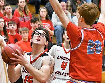 LV's Marinchak looks to take ball to basket