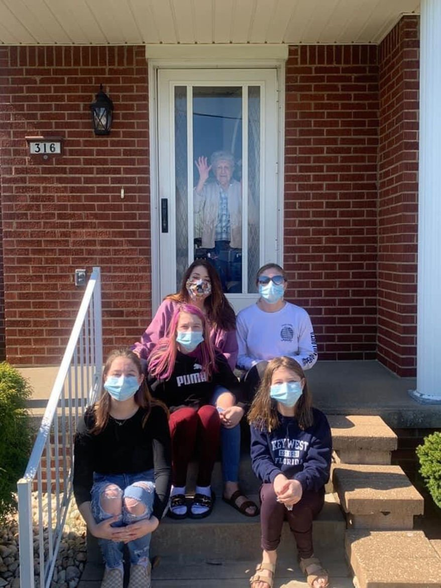Local seamstress aids governor's call to don masks