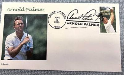 Special Arnold Palmer USPS postmark now available