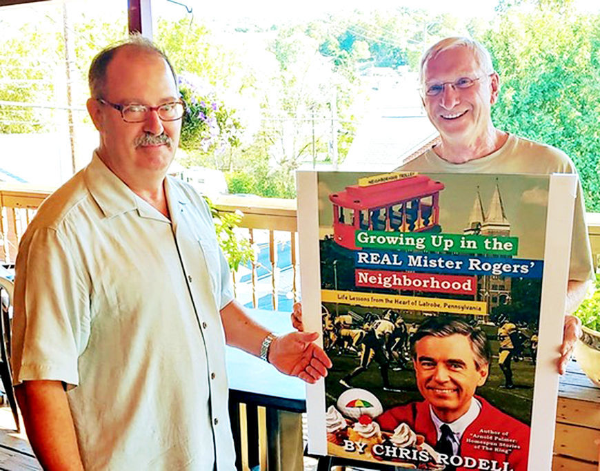 Chris Rodell S Book A Tribute To Fred Rogers And Latrobe Local News Latrobebulletinnews Com