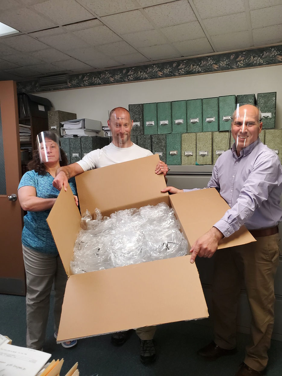 Universal Plastics donates PPE to Latrobe first responders, Bethlen Communities