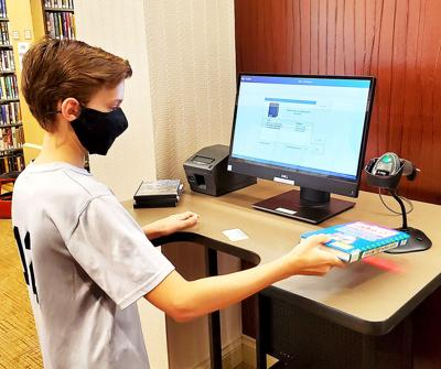 Ligonier Valley Library adds self-checkout station