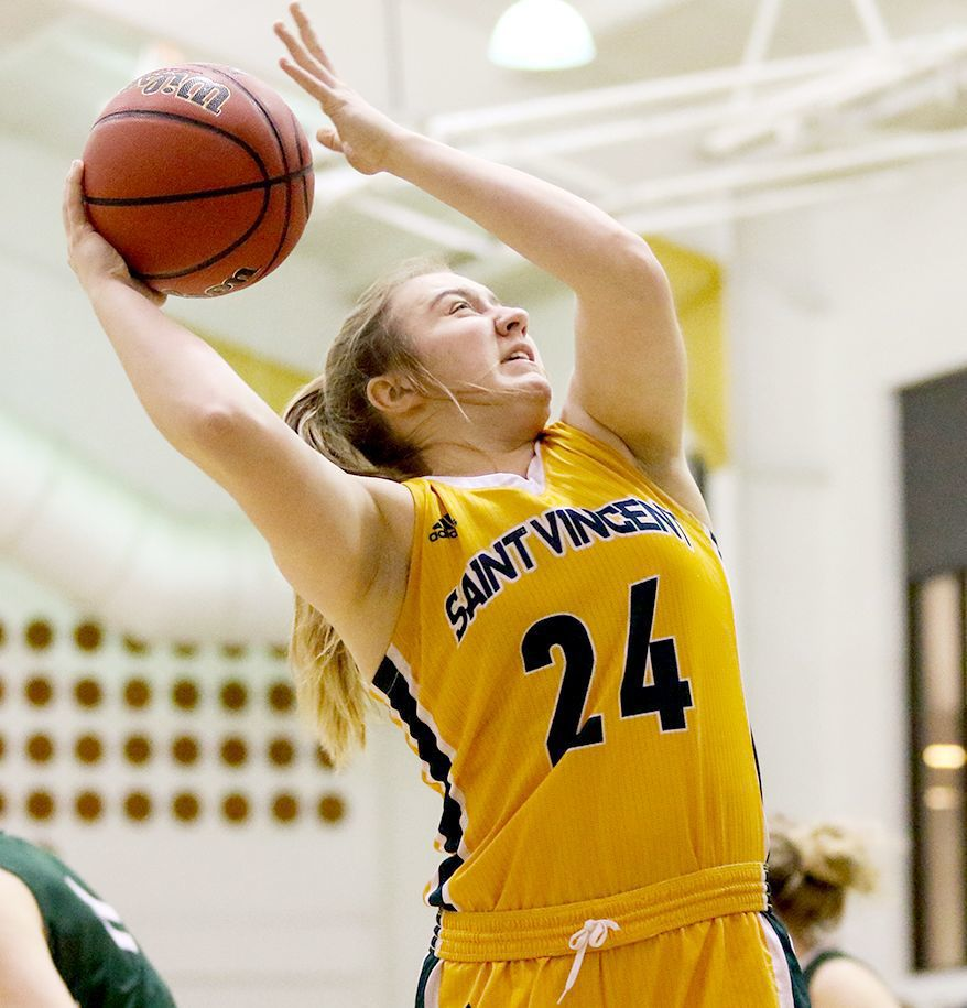 SVC's Weber goes up to basket