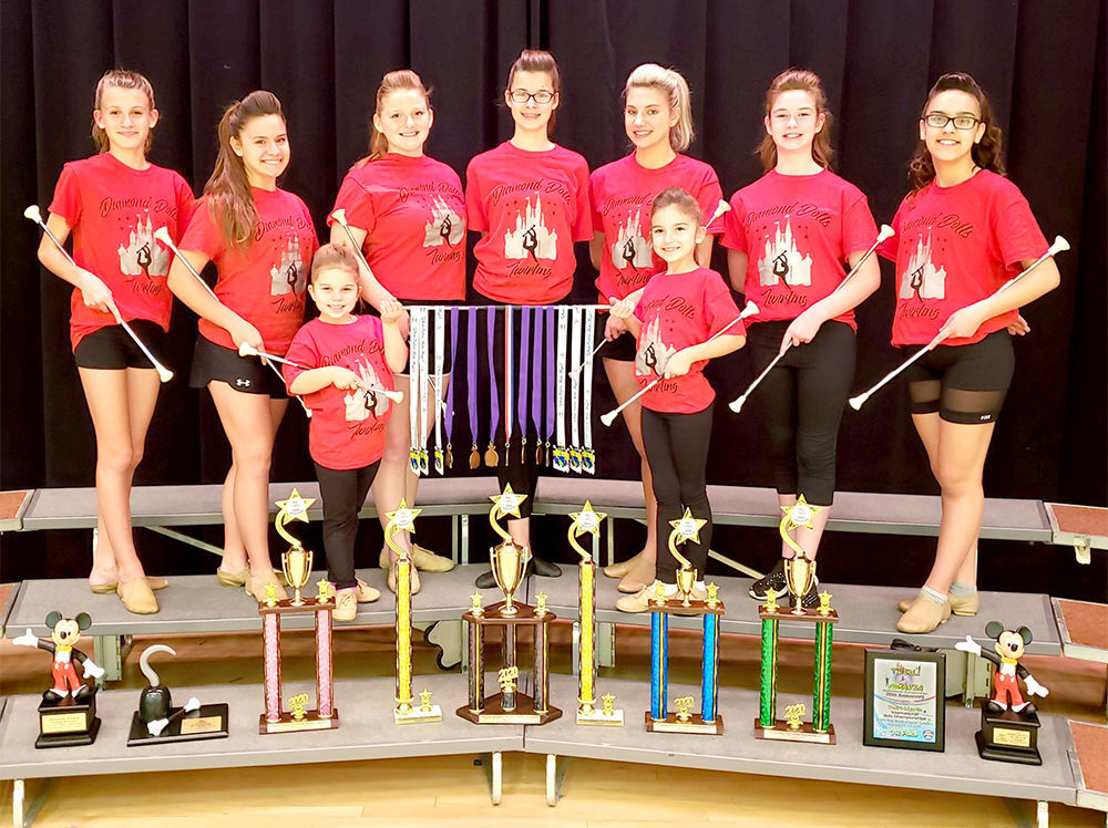 Diamond Dolls Twirling Team registrations slated next week
