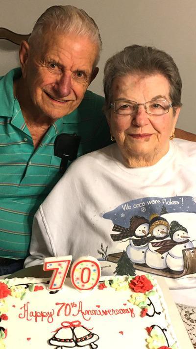 Bethel Church area couple marks 70th