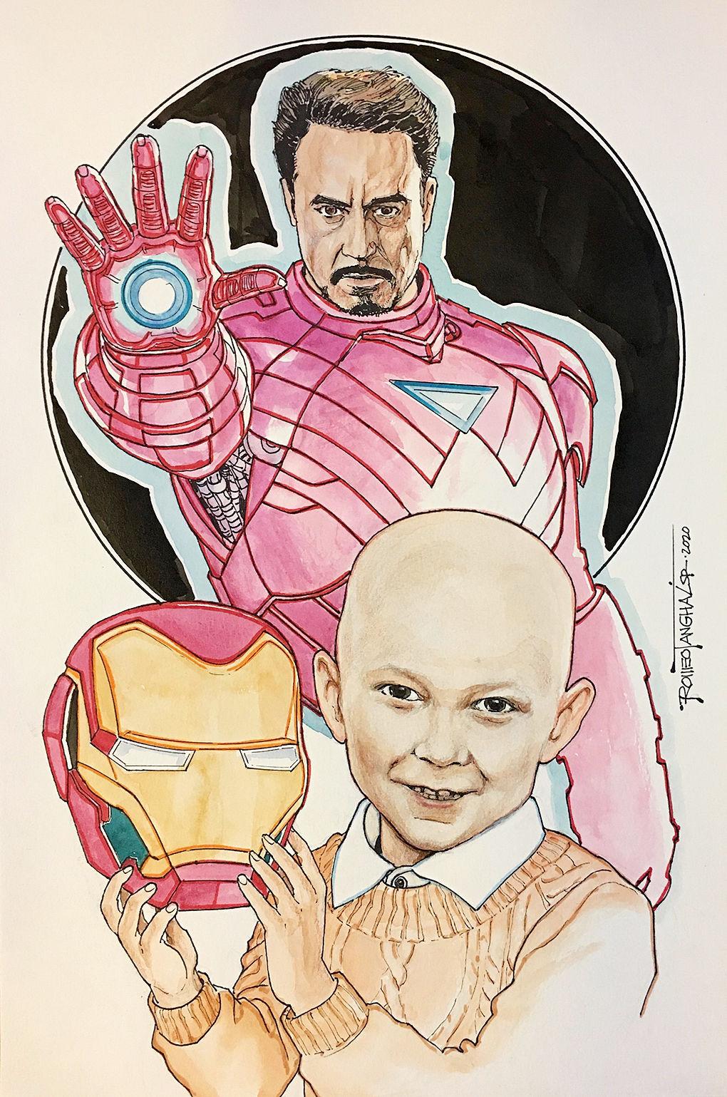 Meet 'Iron Boy': Hempfield Twp. boy fighting cancer is real superhero