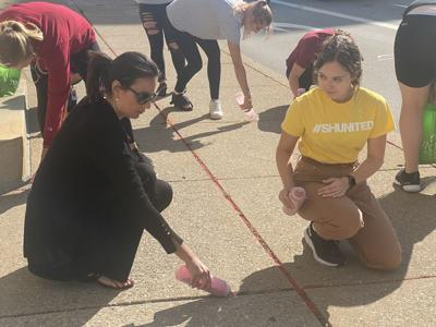 Filling cracks, spreading the word on human trafficking