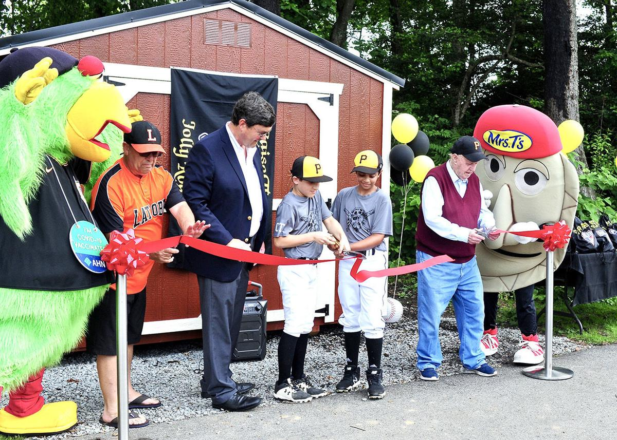 Pirates give Latrobe Little League boost with funds for shed, more