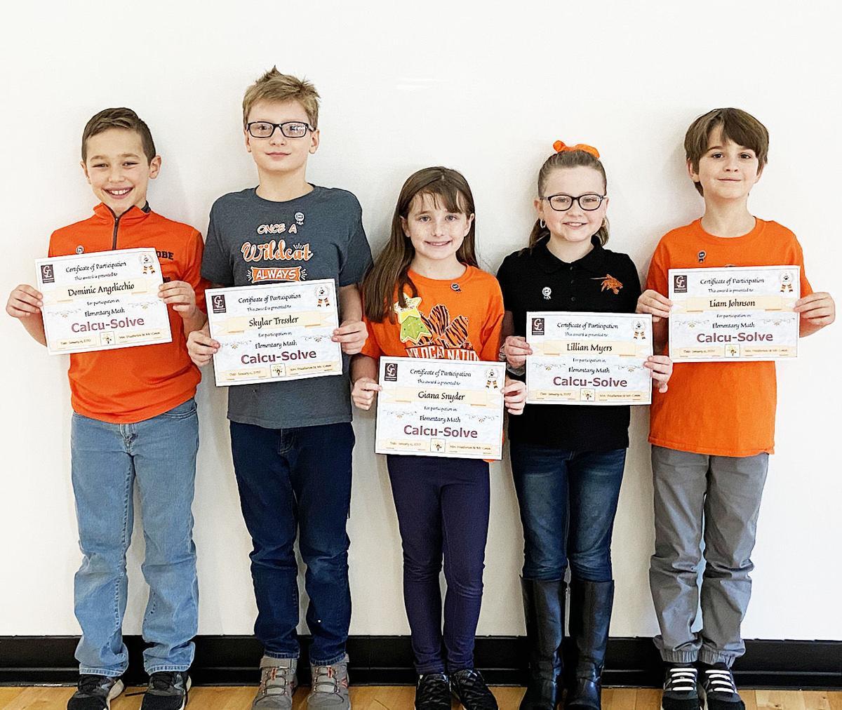 GL students participate in 'Calcu-Solve' event
