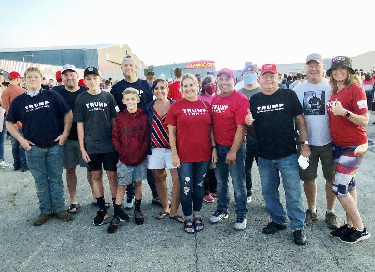 Trump visits Unity Township