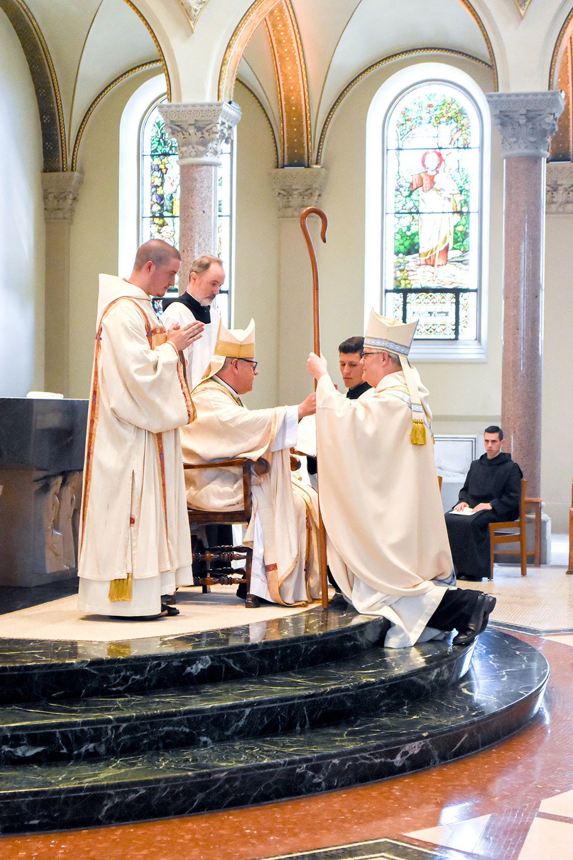 Mass held for blessing of new archabbot at St. Vincent Archabbey