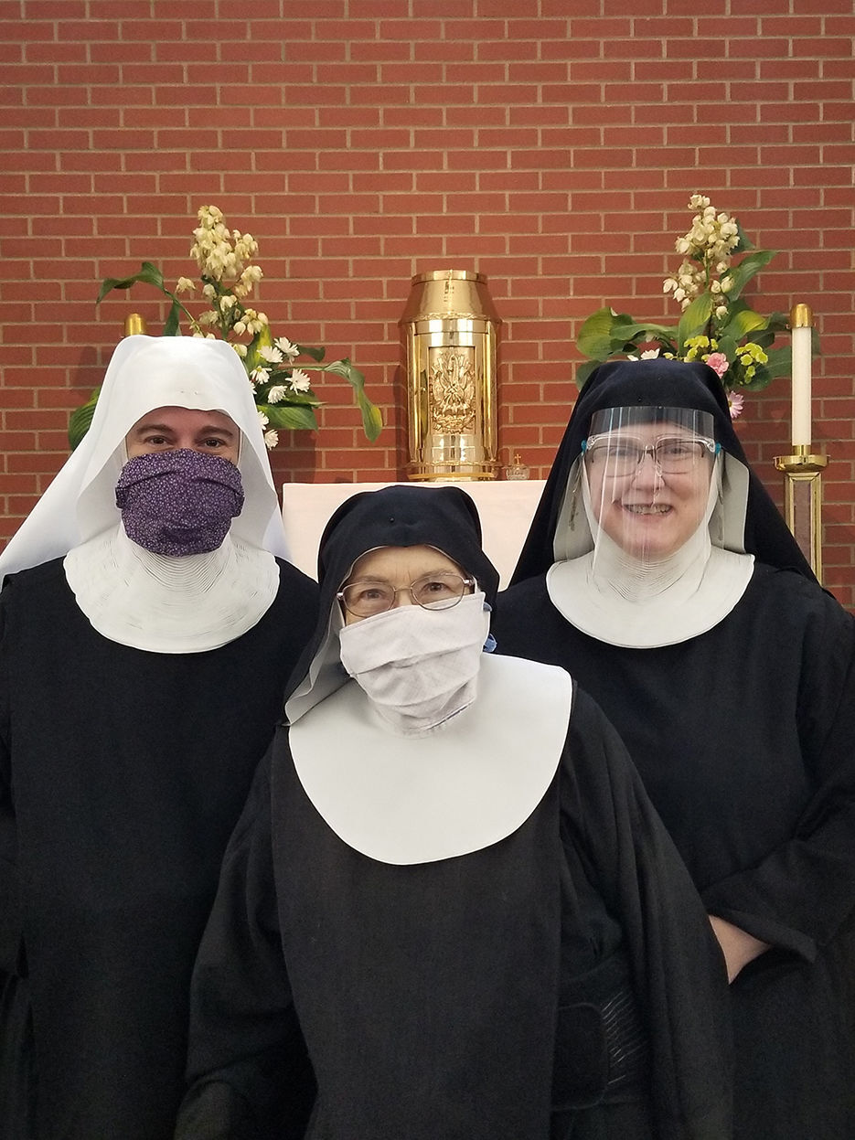 Benedictine sisters affected by virus restrictions