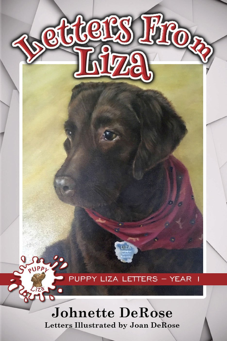 Puppy Liza letters are now in new book