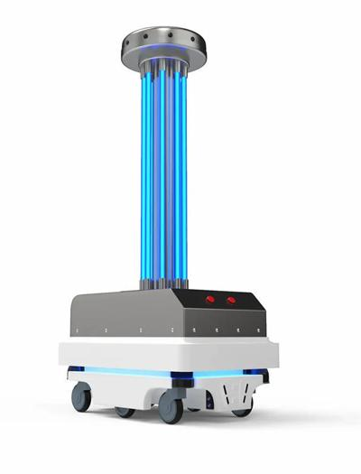 Commissioners approve purchase of UV disinfecting robots for county facilities