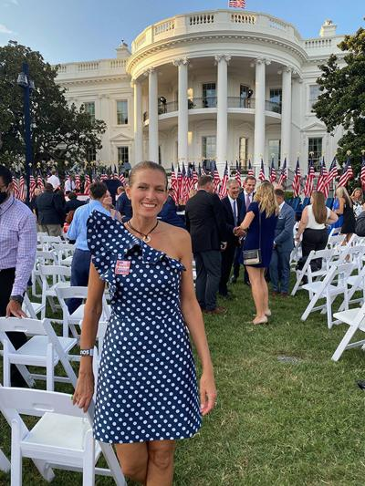 Local delegate and Trump House owner attends Trump's acceptance speech in D.C.