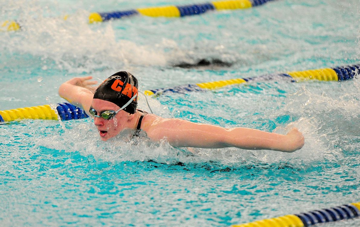 GL's Brewer takes fifth in 100 butterfly in WCCA