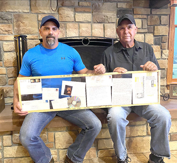 Twenty years later, Derry Twp. father and son recall tribute song for Flight 93
