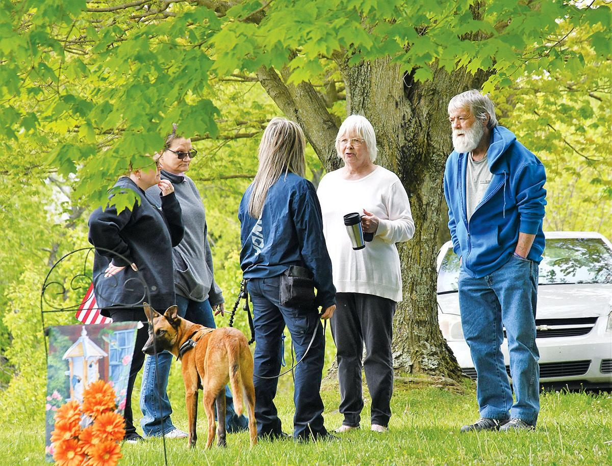 Investigators again search for evidence in Cassandra Gross disappearance near Unity Cemetery
